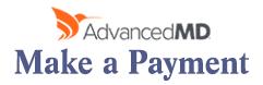 AdvancedMD - Make a Payment Button
